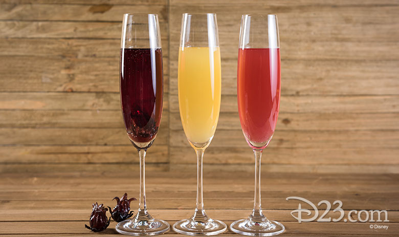 Disney California Adventure Food & Wine Festival 2019 Mimosa Flight