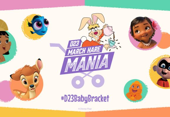 Round 4: Who's the Cutest Disney Baby? It's Time for D23 March Hare Mania 2019!