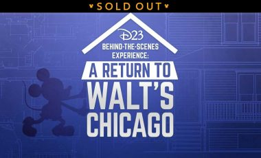D23's Behind-the-Scenes Experience: Return to Walt's Chicago