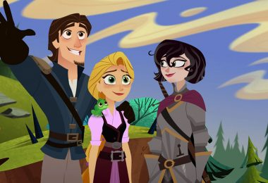 Check out the Musical New Clip from Rapunzel's Tangled Adventure