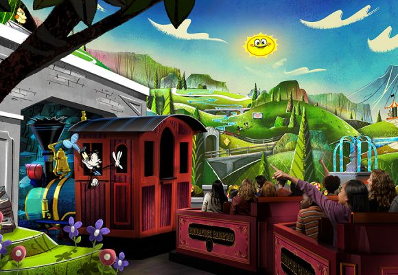 JUST ANNOUNCED: Mickey & Minnie's Runaway Railway Rolls into Disneyland in 2022