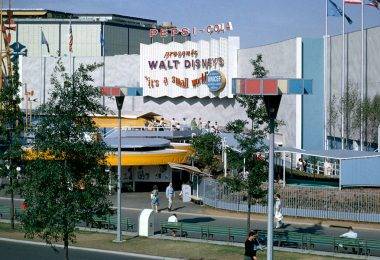 it's a small world at the New York World's Fair