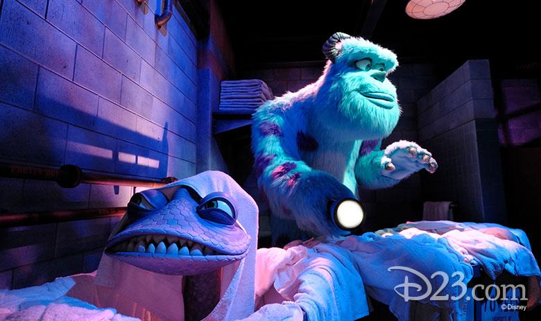 Monsters Inc., Ride & Go Seek!