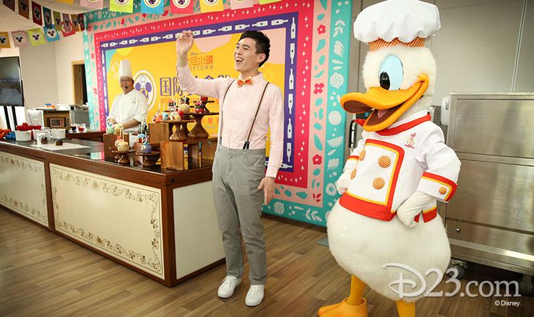 Shanghai Disneyland Food fest