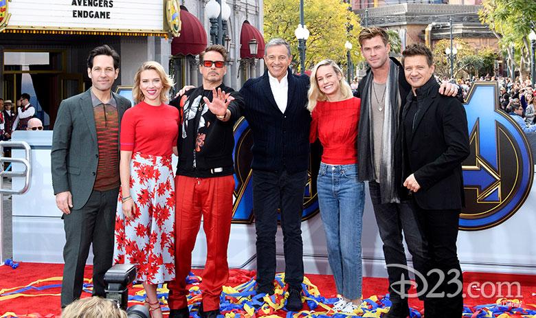 the avengers endgame cast