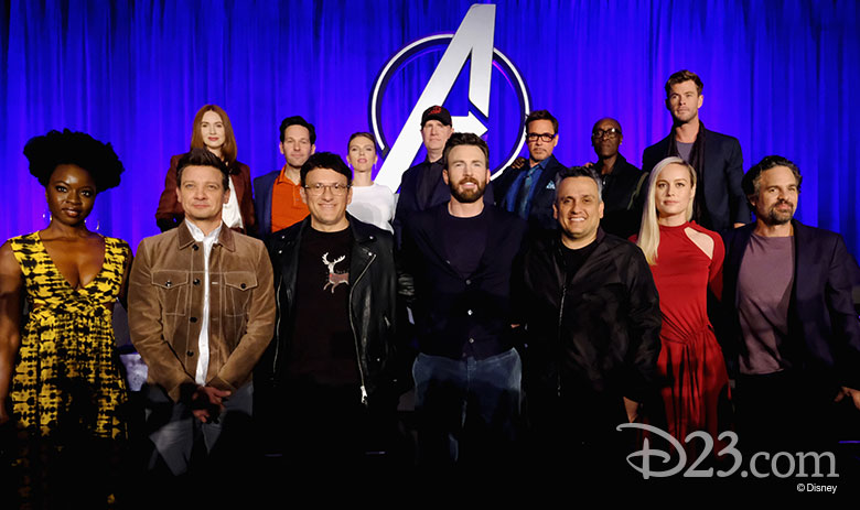 Avengers: Endgame press events
