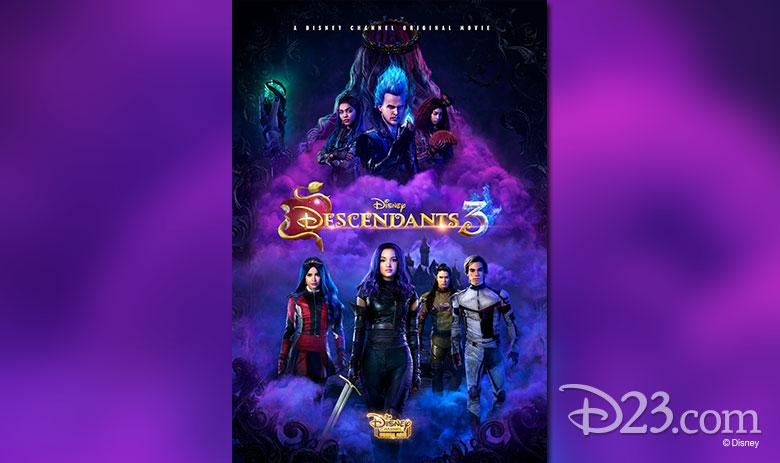 Descendants 3 poster