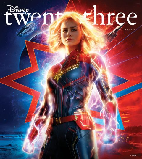 Captain Marvel Spring 2019 Disney twenty-three