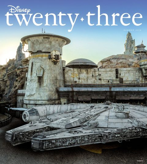 Disney twenty-three summer 2019 cover