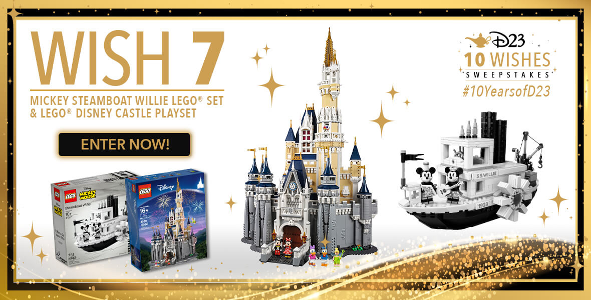 10 Wishes Sweepstakes week 7 prize banner