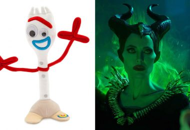 Forky and Maleficent: Mistress of Evil
