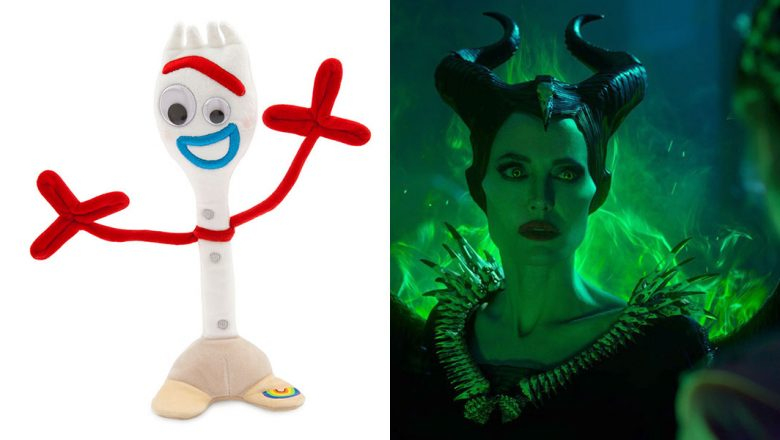 Forky Inspired Merch And Maleficent Mistress Of Evil
