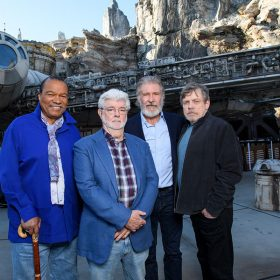 Star Wars: Galaxy's Edge dedication ceremony