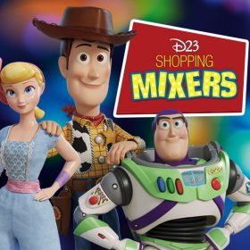 Celebrate Toy Story 4 with D23 Shopping Mixers