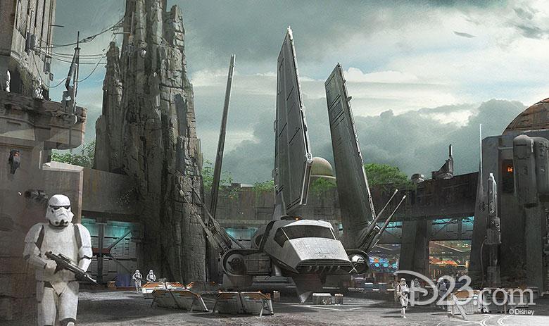 Star Wars: Galaxy's Edge concept art