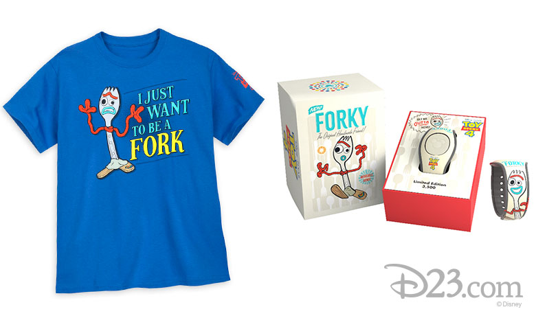 Forky merchandise