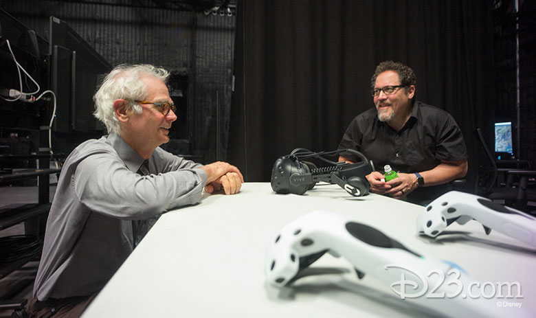 Caleb Deschanel and Jon Favreau