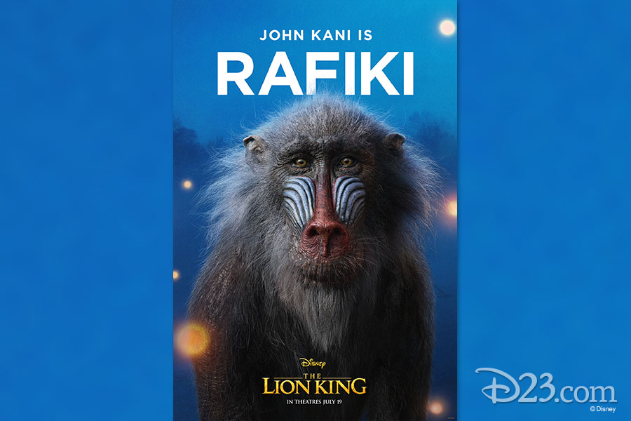 The New Lion King Character Posters Are Royally Awesome D23