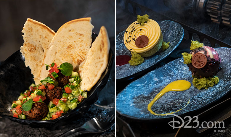 Star Wars: Galaxy's Edge food from Docking Bay 7