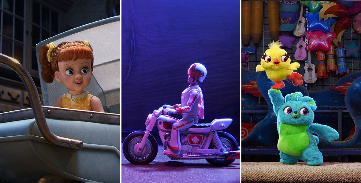 Meet All The New Characters Appearing In Toy Story 4 D23