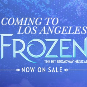 Frozen at the Pantages Theatre