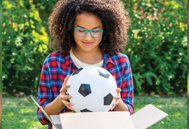 Sofia Wylie Scores Goals on Disney Channel in Back of the Net and Andi Mack