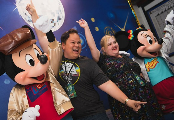 D23 Members Grooved with Mickey and Minnie to Celebrate 40 Years of Mickey Mouse Disco