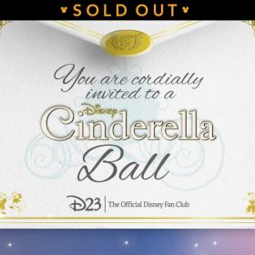 cinderella event sold out