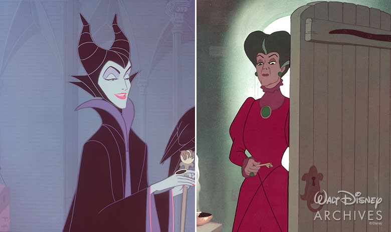Maleficent and Lady Tremain