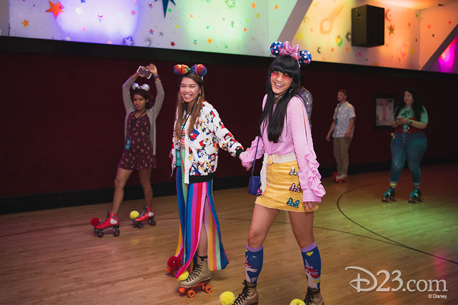 Mickey Mouse Roller Disco Party
