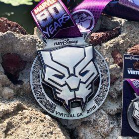 Black Panther medal