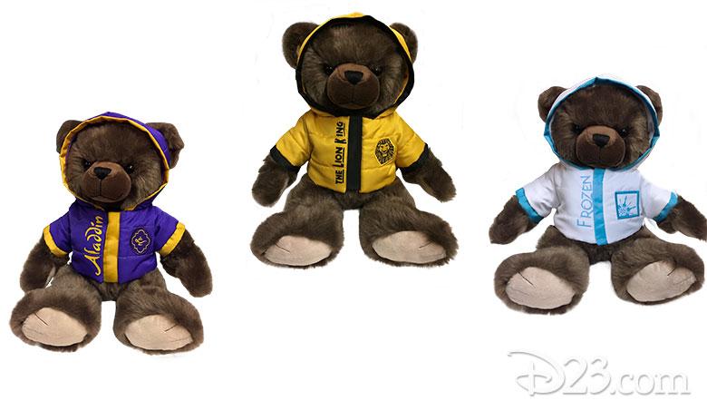 Disney Theatrical Stuffed Bears