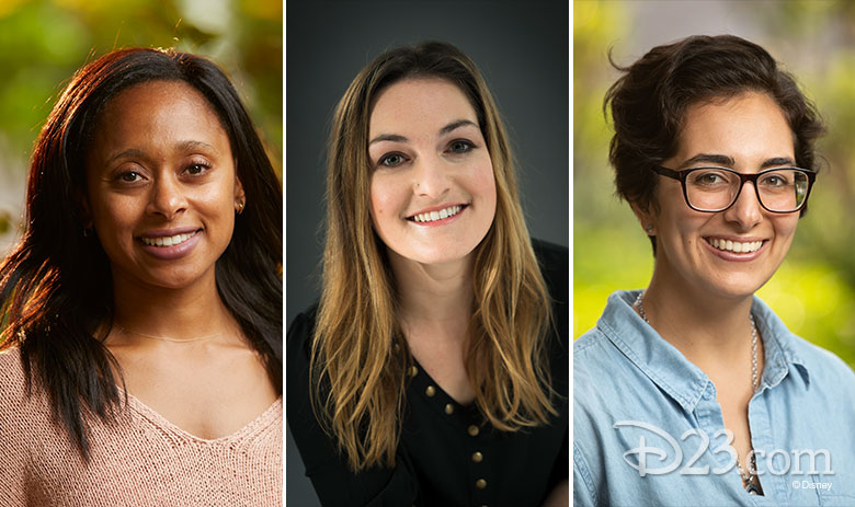 Rae Wynn-Grant, Erika Bergman, and Lilly Sedaghat