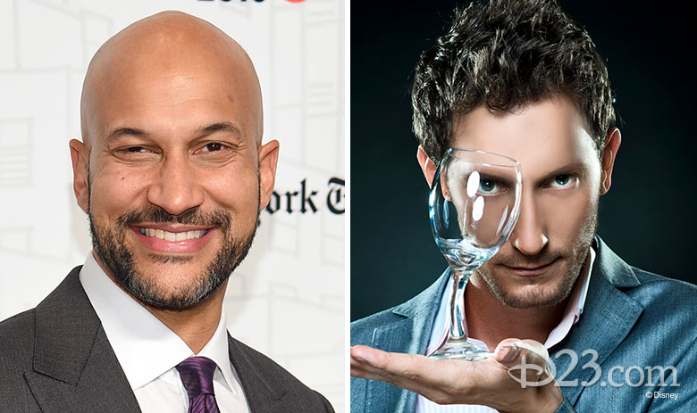 Keegan-Michael Key and Lior Suchard