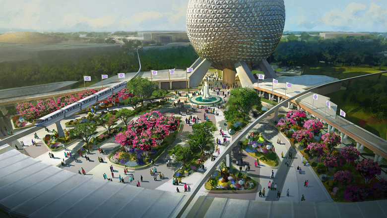 JUST ANNOUNCED: Get a Close-up Look at Epcot's Transformation and