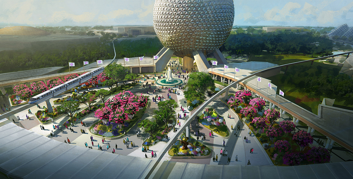 JUST ANNOUNCED: Get a Close-up Look at Epcot's Transformation and More at D23 Expo 2019 - D23