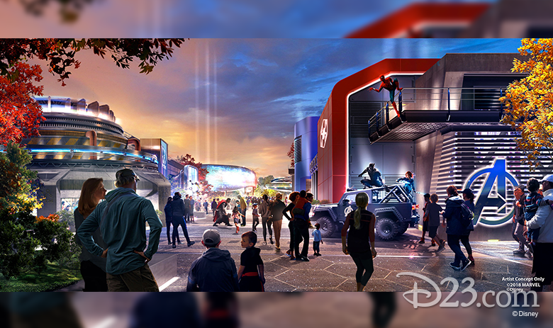 Disney Parks Concept Art