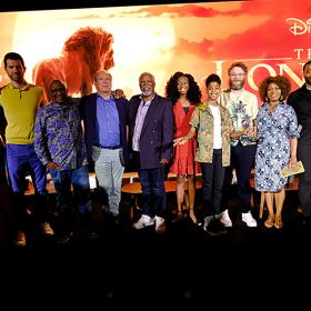The Lion King press conference