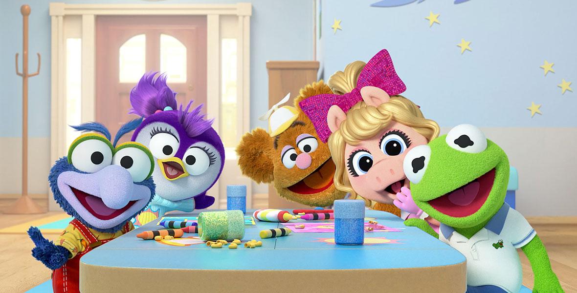 Disney Junior Muppet Babies Rockin/' Animal
