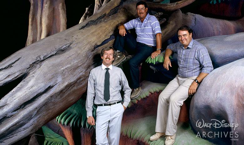 Tony Baxter, John Stone, and Bruce Gordon