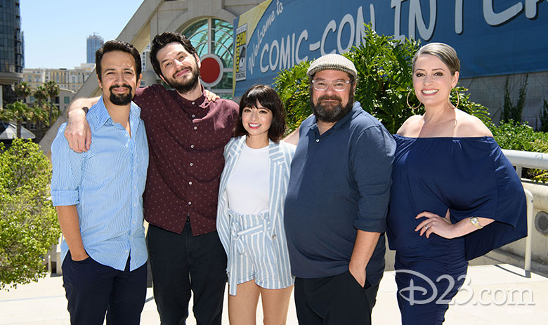 DuckTales cast at Comic-Con
