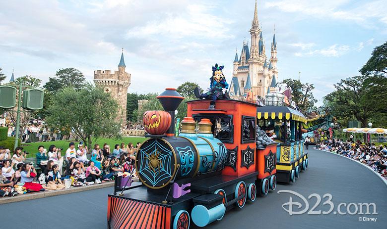 Hallloween at Disney Parks