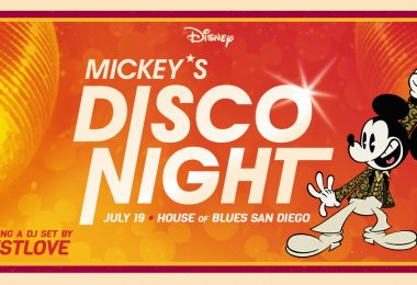 mickey disco event