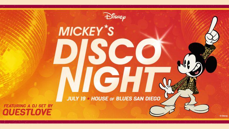 mickey disco event
