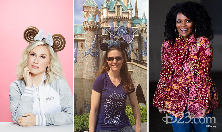 Mousequerade hosts Ashley Eckstein, Jennifer Leonard, and Yvette Nicole Brown