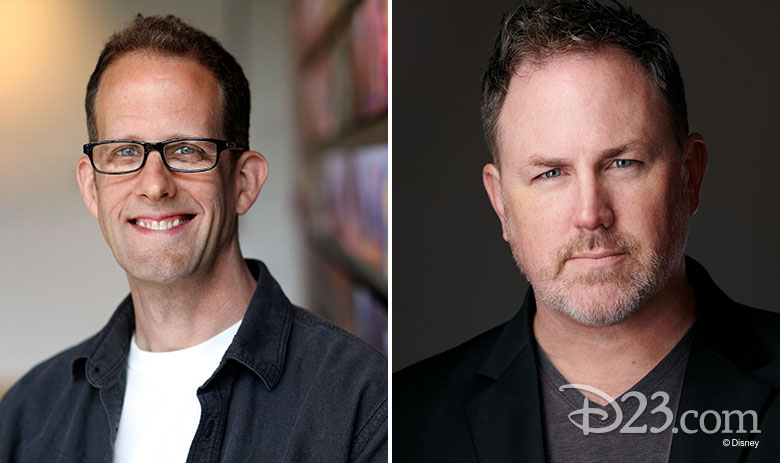 Pete Docter and Chris Merritt