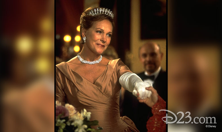 Julie Andrews as Queen Clarisse