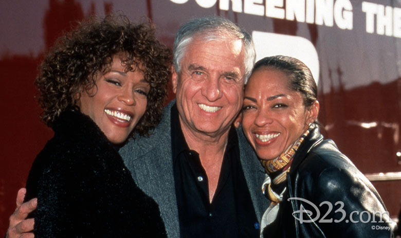 Whitney Houston and Garry Marshall