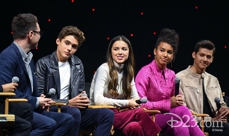 High School Musical: The Musical: The Series D23 Expo panel