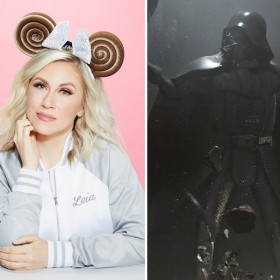 Ashley Eckstein, Vader Immortal, and Yvette Nicole Brown